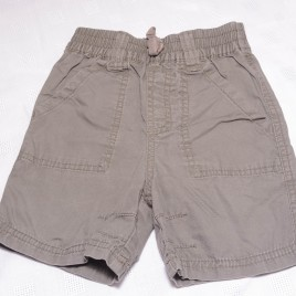 Next grey/brown shorts 12-18 months