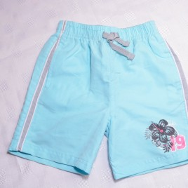 Blue swim shorts 18-24 months
