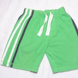 Green shorts 18-24 months