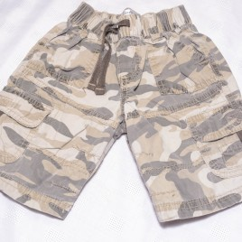 Camouflage shorts 12-18 months