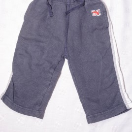 Next navy jogging trousers 12-18 months