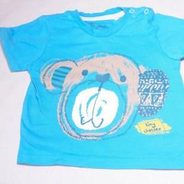 Monkey t-shirt 9-12 months