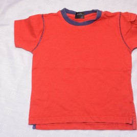 Next red t-shirt 18-24 months