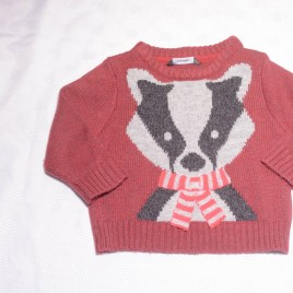Badger jumper 9-12 months