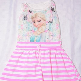 Disney pink Frozen dress 4 years