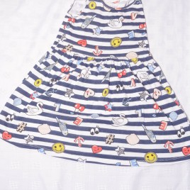 H&M stripy dress 4-5 years