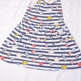 H&M stripy dress 4-5 years