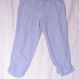 Next blue patterned trousers 5 years