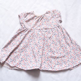 Patterned dress 9-12 months