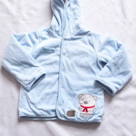Blue reversible jacket 18-24 months