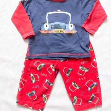 Cars pyjamas 9-12 months