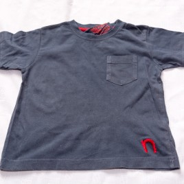 Next navy t-shirt 12-18 months