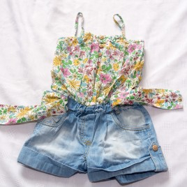 Next playsuit romper outfit 4 years
