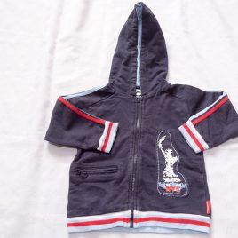 Navy hoodie 2-3 years