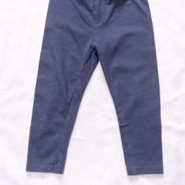 Navy leggings  9-12 months