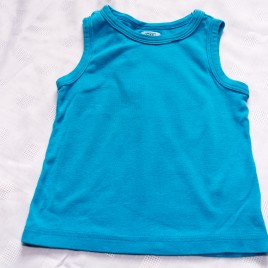 Blue vest top 2-3 years