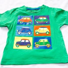 Green cars t-shirt 12-18 months