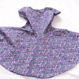 Mothercare pink & purple flowers dress 2-3 years