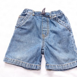 Denim shorts 18-24 months