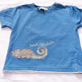 Rocha Little Rocha blue t-shirt 2-3 years