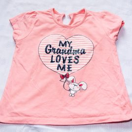 'My Grandma loves me' t-shirt 2-3 years
