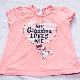 'My Grandma loves me' t-shirt 2-3 years