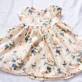 Next cream flowers dress 2-3 years