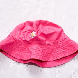 Mothercare pink summer hat 2-3 years