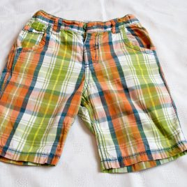 Orange, green & blue shorts 3-4 years