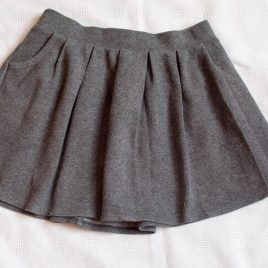 M&S grey school skirt 4-5 years