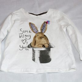 """Next """"Some bunny loves you"""" top 9-12 months"""