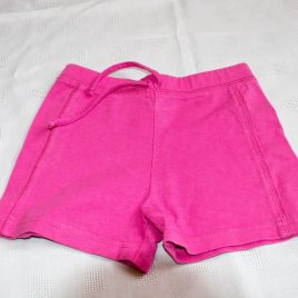 Pink shorts 18-24 months