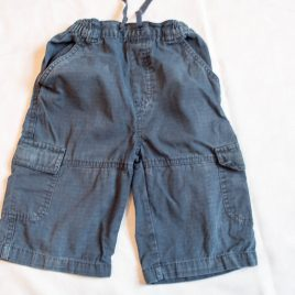 Navy shorts 3-4 years