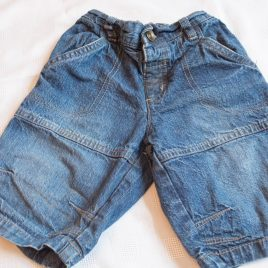 Denim blue shorts 4-5 years