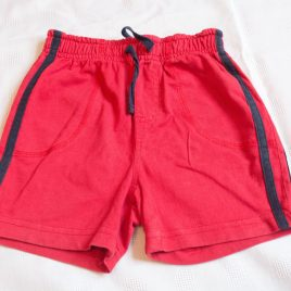 Red shorts 2-3 years