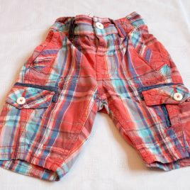 Next red & blue shorts 3 years