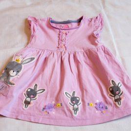 Lilac bunny rabbit tunic top 2-3 years