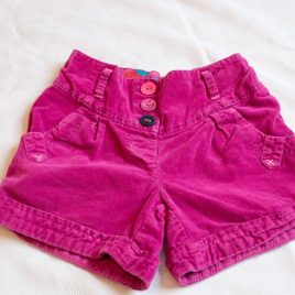 Next velvet feel shorts 4-5 years