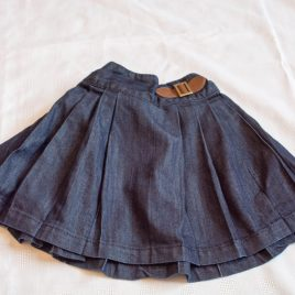Next navy pleated skirt 2-3 years