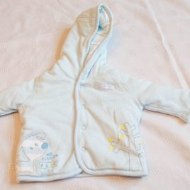 M&S tiny baby reversible coat