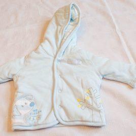 M&S tiny baby reversible coat