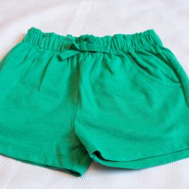 Next green shorts 18-24 months