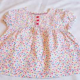 Debenhams spotty t-shirt 3 years