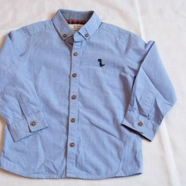 Next blue long sleeved shirt 2-3 years