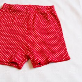 Carters red shorts 2 years