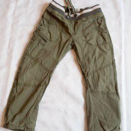 M&S khaki cargo trousers 3-4 years