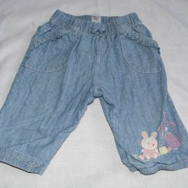 Blue mouse trousers 3-6 months