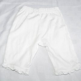 White trousers 3-6 months