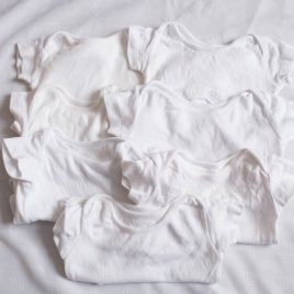 x7 white bodysuits