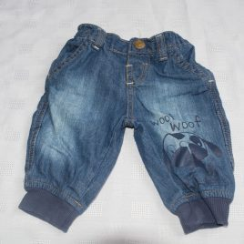 Blue dog jeans 0-3 months